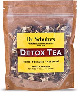 Dr. Schulze's | Detox Tea | All Purpose Herbal Tonic | Powerful Digestive Stimulant | Dietary Supplement | Ultimate Liver ...