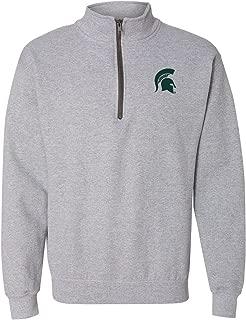 NCAA Primary Logo, Team Color (1/4) Quarter Zip Sweatshirt, College, University