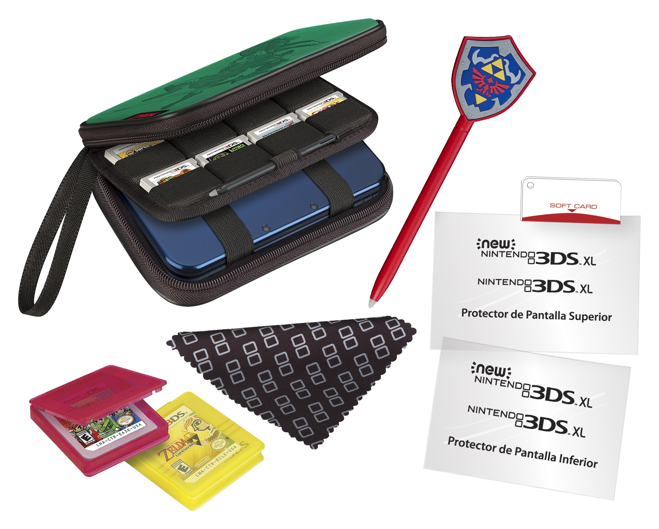 Ardistel - Nintendo Game Traveller Essentials Pack ZEP25, Color ...