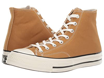 Converse Chuck 70 Vintage Canvas Hi (Wheat/Cinnamon/Egret) Classic Shoes