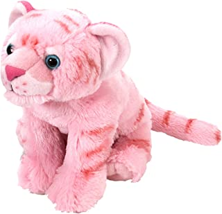 Wild Republic Tiger Plush, Stuffed Animal, Plush Toy, Gifts For Kids, pink, Cuddlekins 12 Inches