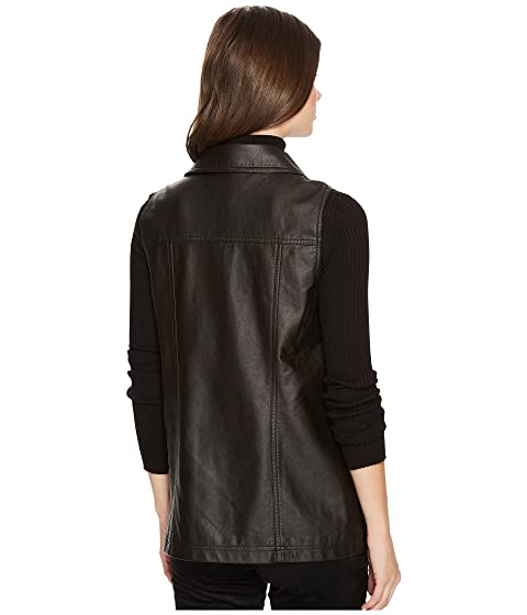 Jack Alvis Vegan Moto BB Crinkled Dakota Vest by qqZrTURxwS