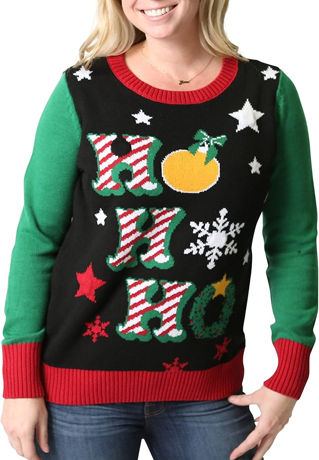 Ugly Christmas Sweater Women's Light Up Holiday Sweater