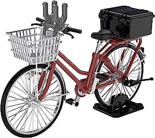 トミーテック リトルアーモリー 1/12 LM005 通学自転車 指定防衛校用 マルーン:精密機材運搬型 彩色済み完成品 312116