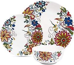 Maison Versailles Tabletops Unlimited Lydia 12-Pc. Dinnerware Set