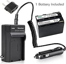 Kastar Battery (1-Pack) + Charger for Canon BP-945, BP-950, BP-970, C2, FV1, FV500, Optura, Ultura, Vistura, DM-XL2, DM-MV20, E65AS, ES-8600, G2000, GL2, MV200i, UC-V300, V75Hi, XH-G1, XL-H1, XM2, XV2