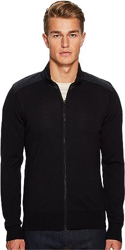 Kelby Fine Gauge Merino Full Zip Sweater
