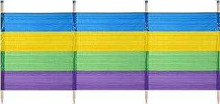 comprar comparacion Yello Unisex 4Grueso Rayas Cortavientos, Multicolor, 4Pole