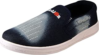 Action Synergy Men's Casual Loafers Nm020 Blue
