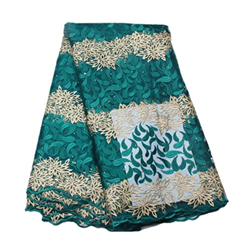 5658755385 African Cotton Lace Fabric: Amazon.com