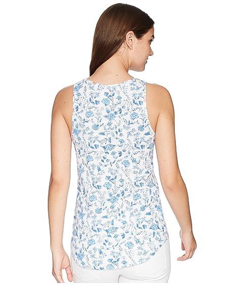 sin mangas Ditsy Sea con Air camiseta Bo White estampado Joules nfpCTT