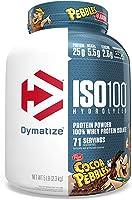 Dymatize ISO100 Hydrolyzed Protein Powder, 100% Whey Isolate Protein, 25g of Protein, 5.5g BCAAs, Gluten Free, Fast...