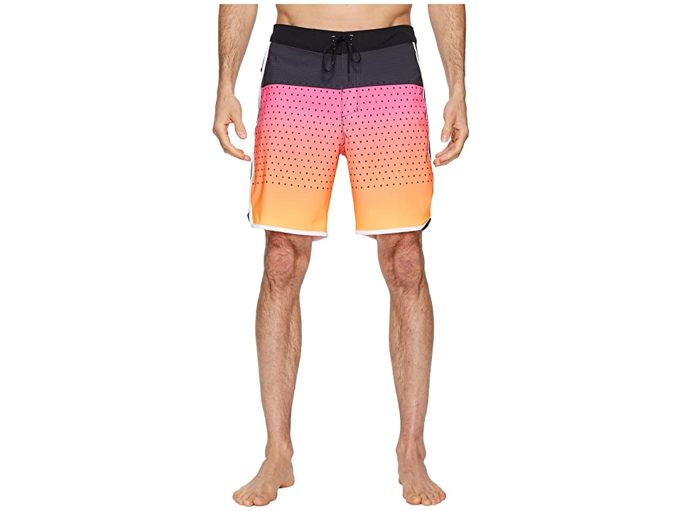 Hurley Phantom Motion Third Reef 18 Boardshorts (Hyper Pink) Men