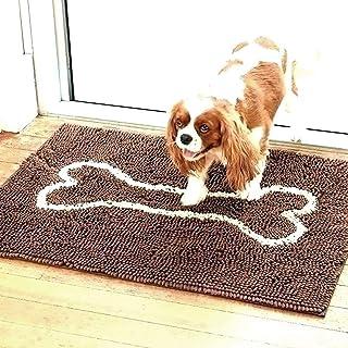 """31"""" x 21"""" Microfiber Dog Doormat Floor Mat- Absorbent Pet Door Mat,Ultra Absorbent Microfiber Dog Door Mat, Durable, Quick..."""