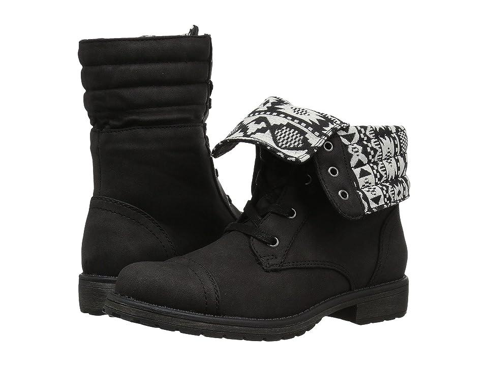 Roxy Kids Vela (Little Kid/Big Kid) (Black) Girls Shoes