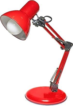 Luminária de Mesa Empire B Startec Vermelho 60.0 220 V