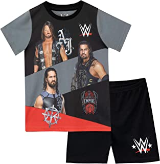 Pijamas de Manga Corta para niños World Wrestling Entertainment