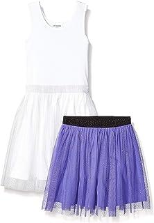 Marca Amazon - Spotted Zebra – Conjunto de vestido tutú y falda para niña