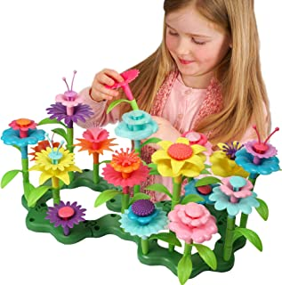 Axel Adventures Flower Building Toy Set, Sensory Educational Toy for Girls and Boys, ToddlerToy Learning Game for Kids, ST...