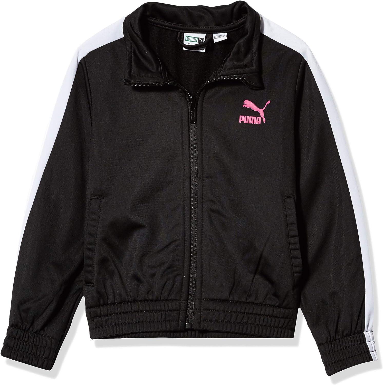 PUMA Girls' Tricot Track Jacket
