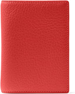 Leatherology RFID Scarlet Deluxe Passport Cover