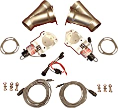 2 1/2 inch electric exhaust cutouts