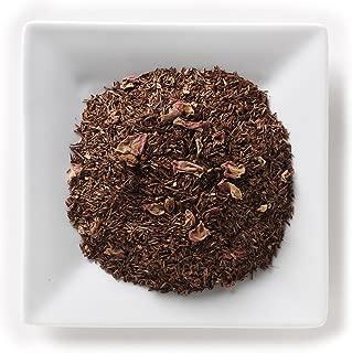 Mahamosa Raspberry Vanilla Rooibos Tea 2 oz - Loose Leaf Rooibos Herbal Tea Blend (with flavoring, freeze-dried whole raspberries, rose petals, vanilla pieces)