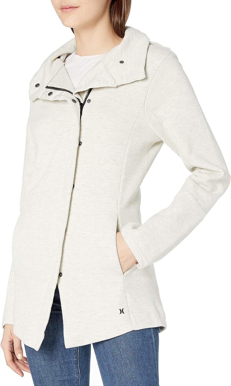 Hurley Womens Thermafit Winchester Zip Up Fleece Sweater
