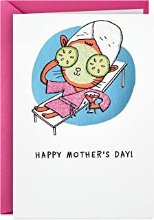 Hallmark Shoebox Funny Mothers Day Card (Rest, Relax, Repeat)