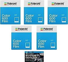 Impossible/Polaroid Instant Color Film for Polaroid 600 and Polaroid Originals OneStep Cameras - 5 Pack