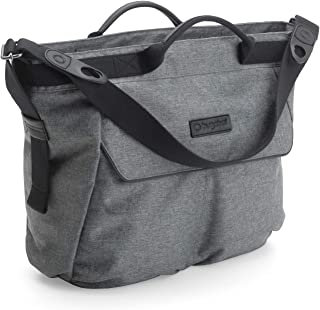 Bugaboo Changing Bag - Grey Melange - Convenient and Stylish Diaper Bag to Carry All of Your Essentials - Easily attaches to Bee5, Cameleon3, Fox and Buffalo Strollers, Grey Melange