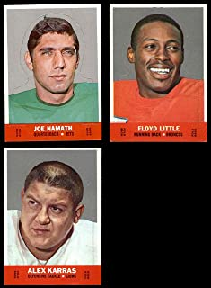 1968 Topps Football Stand-Ups Complete Set - Premier (Football Set) Dean`s Cards 6.5 - EX/MT+
