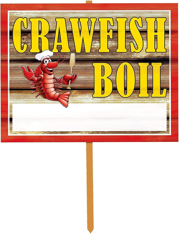 Discount is also underway Beistle 1-Count Crawfish Boil service Yard 14