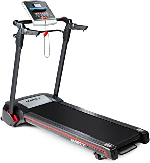 Marcy Easy Folding Motorized Treadmill/Pre Assembled Electric Running Machine JX-651BW