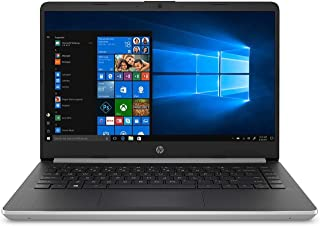 HP 14-DQ1039 Laptop, Intel 10th Gen Core™ i5-1035G1, 8GB SDRAM, 256GB SSD + 16GB Intel® Optane™ memory, Natural Silver, Win 10