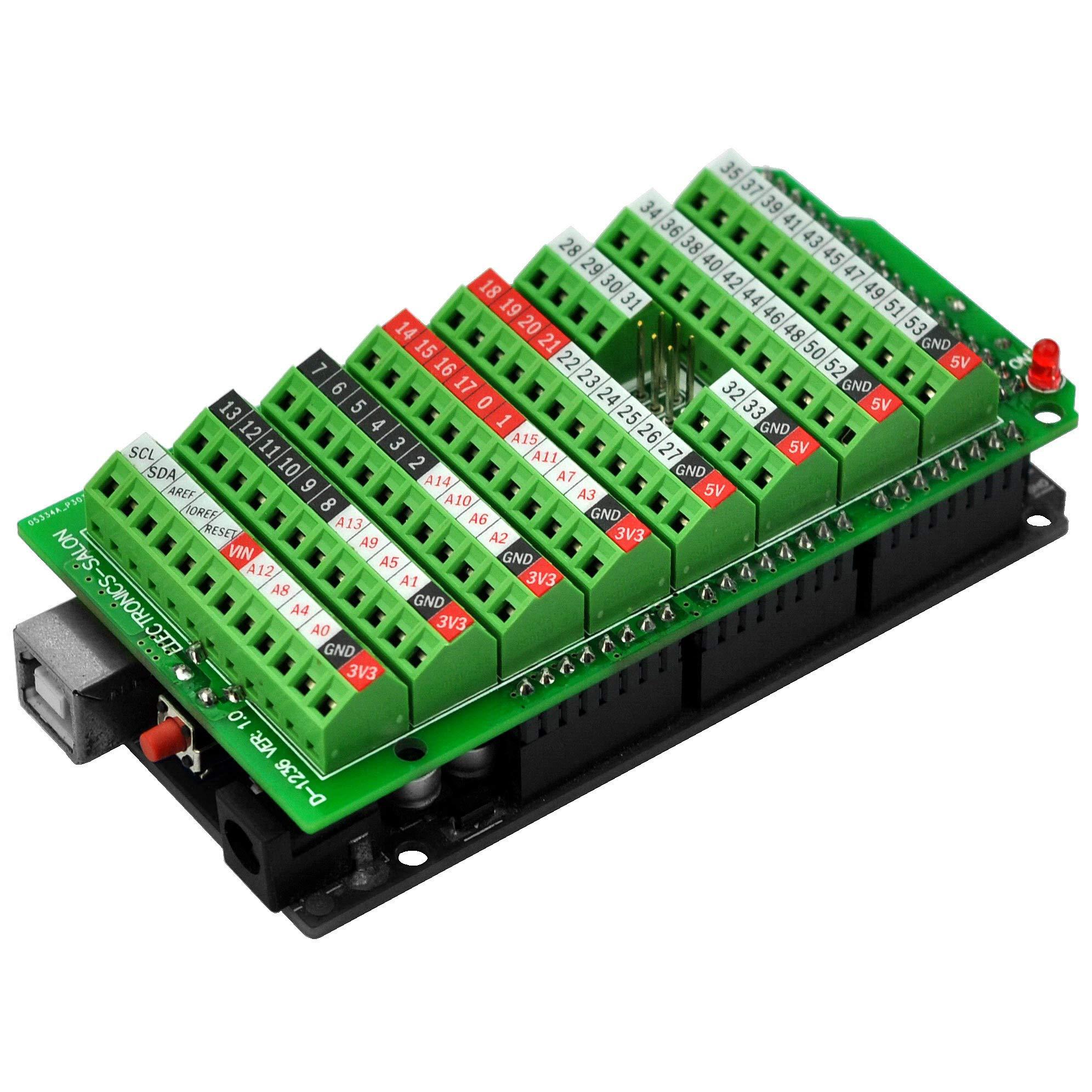 Electronics Salon Terminal Breakout Arduino MEGA 2560