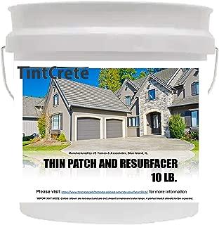 TintCrete Thin Patch and Concrete Resurfacer 10 LB. (Beige - Resembles Old/Worn Concrete)