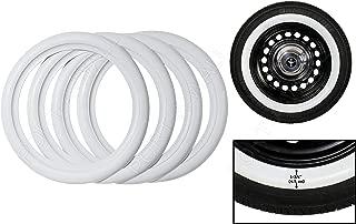 130 90 x 17 tire white wall