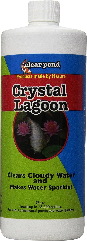 Clear Pond Crystal Lagoon Water Clarifier, 32Ounce