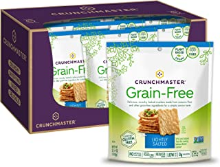 Crunchmaster Grain-Free Lightly Salted, 3.54 Ounce Bag, 12 Count