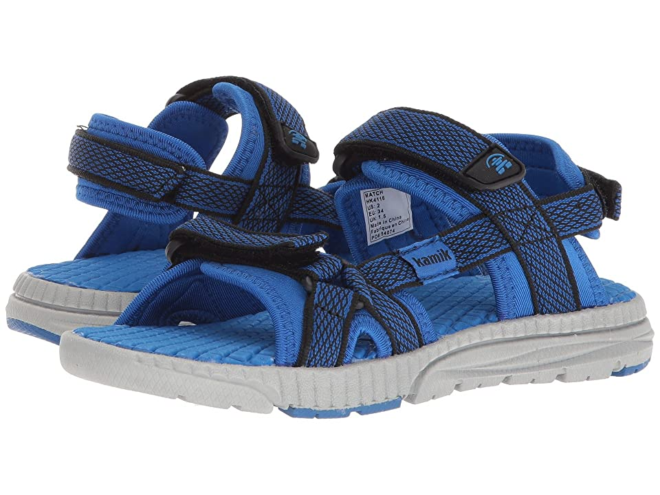 Kamik Kids Match (Toddler/Little Kid/Big Kid) (Blue) Boys Shoes
