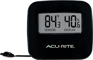AcuRite 02067M Digital Thermometer with Humidity and Wired Temperature Sensor