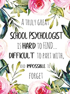 A truly great school psychologist is hard to find POSTER A3 Amazing school psychologist Appreciation Gift School Office Wall Art Print