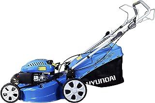 HYUNDAI HYM56SP Cortacesped Autopropulsado, 0.75 W, 0 V, Azul Y Negro, 94 x 60 x 53 cm