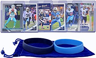 Tennessee Titans Cards: Marcus Mariota, Derrick Henry, Corey Davis, Dion Lewis, Kevin Byard, Ryan Tannehill ASSORTED Football Trading Card and Wristbands Bundle