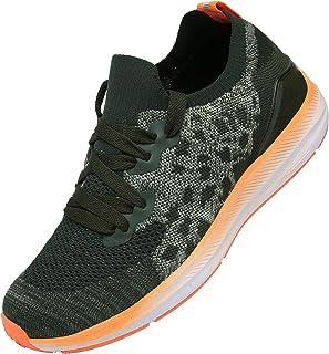 KOUDYEN Basket Femme Homme Chaussures de Sport Lacets Fitness Confortable Basses Basquettes Chaussure Running