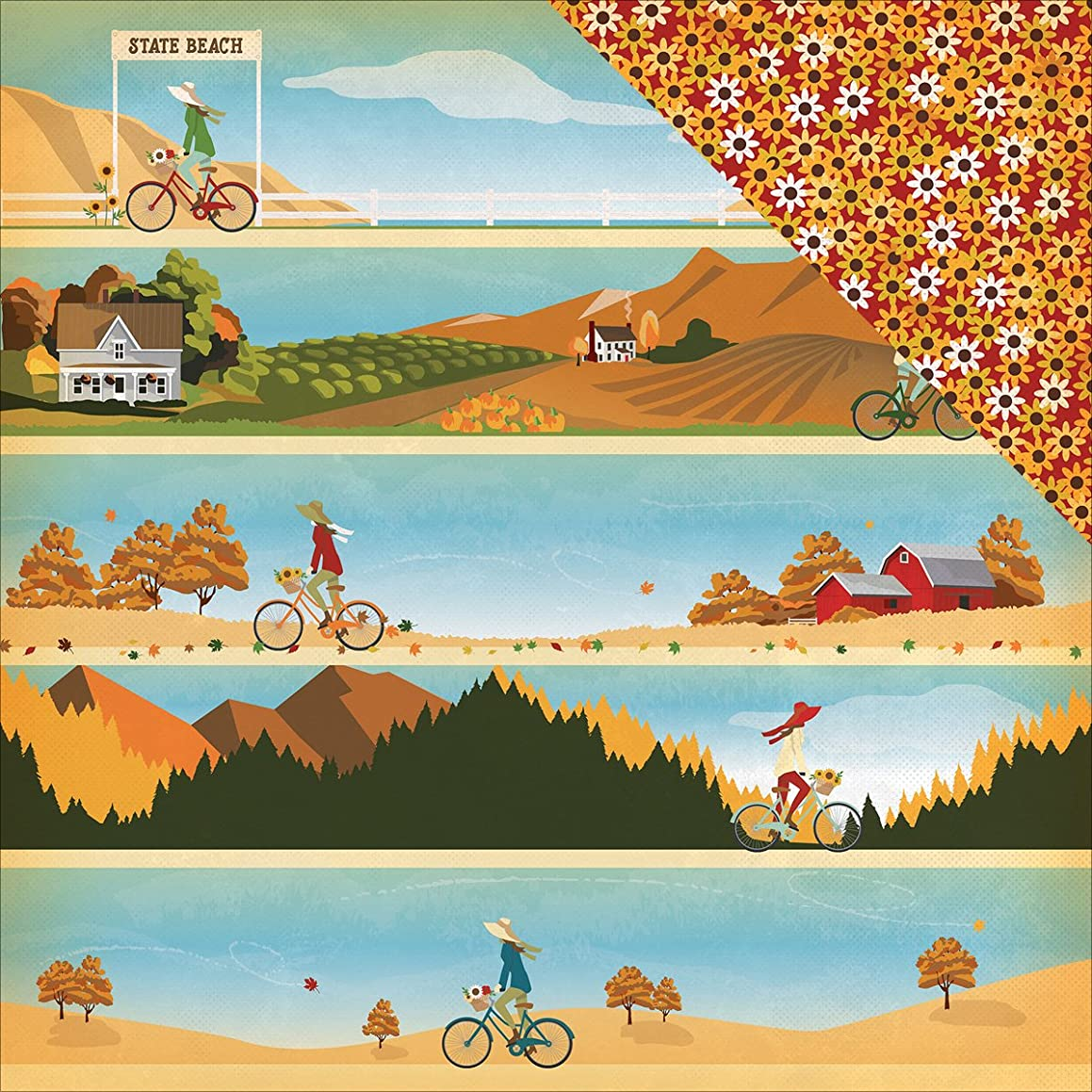 Autumn Double-Sided Cardstock 12