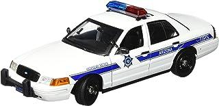 Motormax 1:18 Ford Victoria Arizona Highway Patrol Car - White