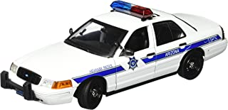 Motormax 1:18 Ford Victoria Arizona Highway Patrol Car - White
