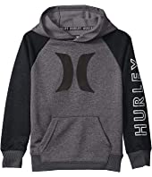 Dri-Fit Solar French Terry Icon Pullover Hoodie (Little Kids)